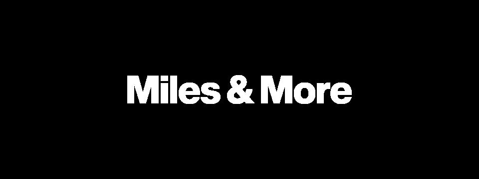 Miles & More | Client | LIGANOVA